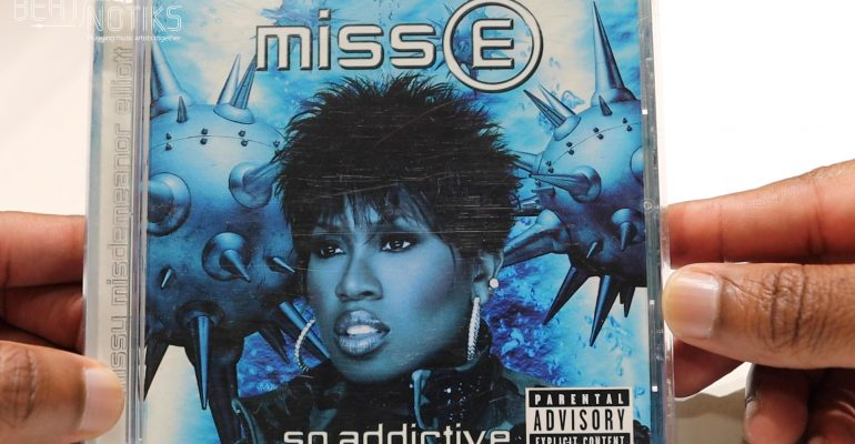 Missy Elliot 2001 'MISS E… SO ADDICTIVE' CD Showcase